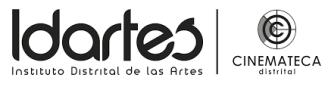 LOGO IDARTES CINEMATECA