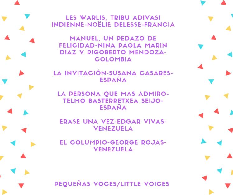 SELECCIÓN PEQUEÑAS VOCES 17