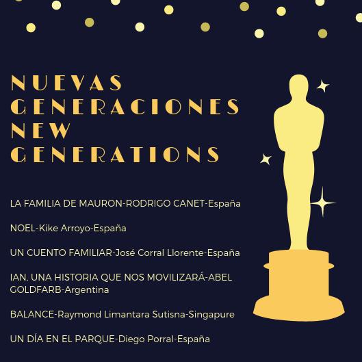 resumen selección oficial Nuevas Generaciones