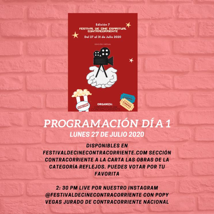 programación día 1