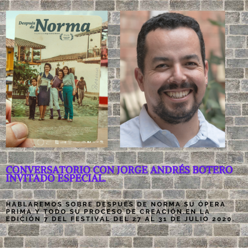 CONVERSATORIO CON JORGE ANDRÉS BOTERO